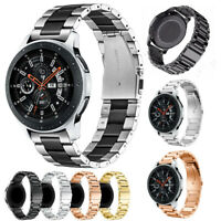 Stainless Steel Link Watch Band Strap For Samsung Galaxy Watch 42 46mm Gear S3