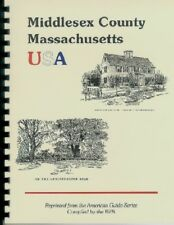 2 Middlesex County Massachusetts History books Special Price Lexington New RP