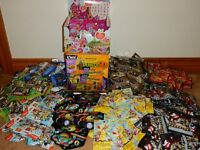 LOT OF BLIND PACKS SLITHER IO, GROCERY GANG, PLANTS & ZOMBIES & MORE FREE SHIP