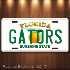 Florida Gators Aluminum License Plate Tag New