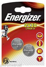8 x Energizer CR2430 / CR 2430  DL2430 / DL 2430 3V Lithium Battery NEW