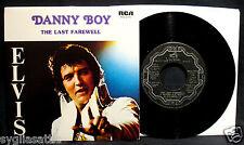 ELVIS PRESLEY-Danny Boy/Last Farewell-RCA #2716-Rare Canadian Import 45+Sleeve