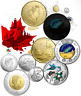 2017 Canada 150th Birthday Uncirculated 5-Coin Collector Set WINNING DESIGNS.