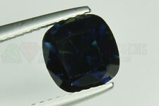 Big Blue Sapphire Cushion cut 7.5x7.5mm VS 2.71ct Loose Natural Gemstone
