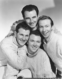 """Clancy Brothers 10"""" x 8"""" Photograph no 1"""