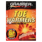 GRABBER WARMERS 6 Hour Air Activated Adhesive Toe Warmers (2 Pack) G7127