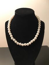Stunning Jewerely: Beautiful Pearl Necklace and Earrings. Look Your Best.