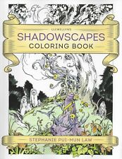 SHADOWSCAPES COLORING BOOK Stephanie Pui-Mun Law faery faerie fairy color
