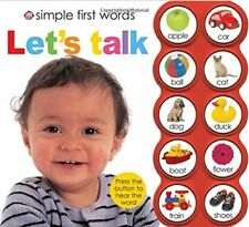 Simple First Words Simple First Words Let's Talk by Roger Priddy 2011,Board Book