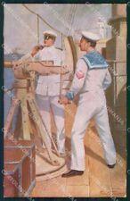 WW1 WWI Propaganda Marina Militare Saylor cartolina postcard XF8758