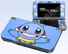 New Nintendo 3DS XL Skin Vinyl Decal Sticker - Pokemon Squirtle