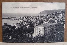 Un saluto da San Remo - Il panorama [piccola, b/n, viaggiata]
