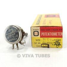 Vintage Ohmite CU-5021 Type AB Potentiometer 2W 500 ohm