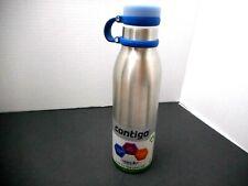 Contigo Matterhorn Water Bottle, 20 oz, Stainless Steel with Monaco Accent
