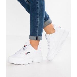 Fila Disruptor Sneakers White Unisex 2019 Original Italy 2018 Man Woman