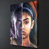 "KOBE BRYANT  11x17  /""Black Light/"" Poster"
