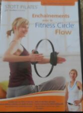 Stott Pilates Fitness Circle Flow Workout DVD Video Exercise Abs Series Core Leg