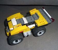 Yellow Car Auto LEGO Bricks Macchina Gialla Mattoncini Costruzioni