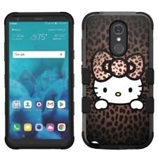 for LG Stylo 4 Armor Impact Hybrid Cover Case Hello Kitty #H