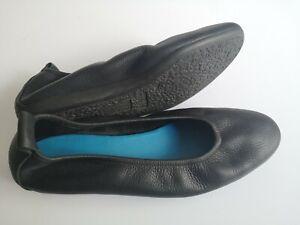 Damen Schuhe Ballerinas ARCHE LAIUS Gr 39 UK 6 schwarz Leder