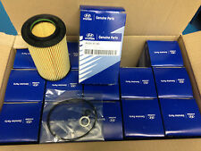 10 Pcs Hyundai Genuine OEM Oil filter kit 263203C30A Genesis Coupe 3.8L