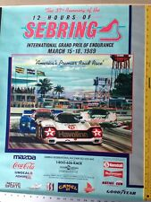 Sebring Poster 1989