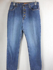 Vintage 1980's 1990's Zena Jeans Womens Sz 8 Snap Fly Classic 28 W 30 L 28x30