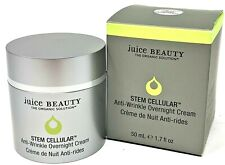 BNIB Juice Beauty Stem Cellular Anti Wrinkle Overnight Cream 1.7 oz  Full Sz