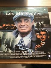 Les Miserables Laserdisc PAL