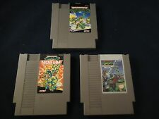 Teenage Mutant Ninja Turtles 1 2 3 TMNT II Arcade III Manhattan Nintendo NES