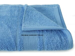Luxe 100% Coton Égyptien 600 Gsm Serviettes de Toilette Set Main Bain Drap