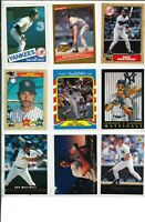 LOT OF (61) DON MATTINGLY BASEBALL CARDS - MLB YANKEES! BV$$$