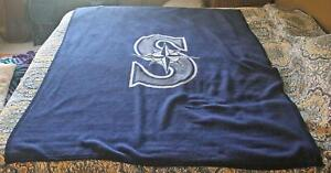 Vintage Bierderlack Seattle Mariners Major League Baseball Blanket Large
