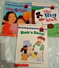 SCHOLASTIC PHONICS LEARNING TO READ - This is Fun Big Nut and Rob's Shop