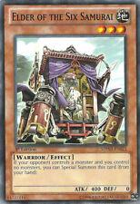 YuGiOh Elder of the Six Samurai - SDWA-EN021 - Common - 1st Edition Near Mint