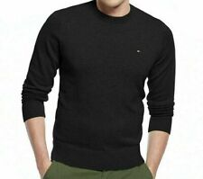 Tommy Hilfiger CREW NECK 100% Cotton Knit Pullover Jumper Sweatshirt