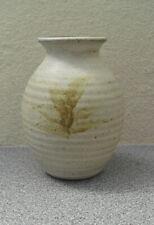 Old Elvet Pottery Durham City studio pottery small stoneware vase