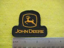 John Deere Equipment Service Dealer Uniform Hat Black Patch