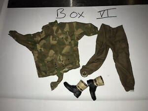 "1:6 Flagset End War Umir Female /""Fire/"" Arm Sleeves 12/"" GI Joe BBI Hot DamToy PMC"