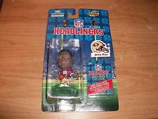 (2) 1996 Corinthian NFL Headliners Football Steve Young And Jerry Rice Figures