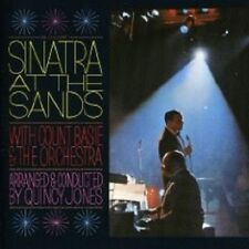 "FRANK SINATRA ""SINATRA AT THE SANDS"" CD NEW+"