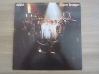 ABBA SUPER TROUPER 1981 Korea Orig LP INSERT