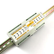 smartDEN LAN Ethernet IP 16 channels WEB Relay board - DIN Rail Box 24VDC