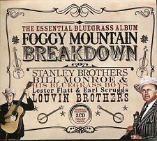 THE ESSENTIAL BLUEGRASS ALBUM FOGGY MOUNTAIN BREAKDOWN - 2 CD BOX SET