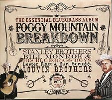 THE ESSENTIAL BLUEGRASS ALBUM FOGGY MOUNTAIN BREAKDOWN - 2 CD BOX SET