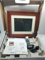 """Philips Home Essentials Digital PhotoFrame 10.4"""" LCD  Picture Frame  Open Box"""