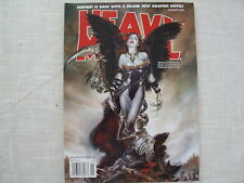 Heavy Metal Magazine January 2008 Vol XXXI No 6 Cover by Fleming Adult Comic