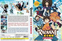 ANIME DVD ENGLISH DUBBED Radiant(1-21End)Eng sub&All region + FREE CD