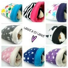 More details for *40 designs*large*ex large*fleece snuggle guinea pig  bed pouch bag cuddle cosy