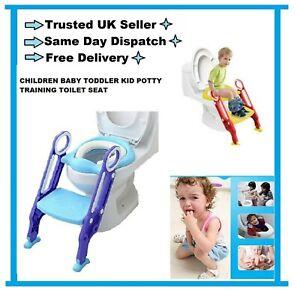 CHILDREN BABY TODDLER KID POTTY TRAINING TOILET SEAT TRAINER URINAL CHAIR LADDER